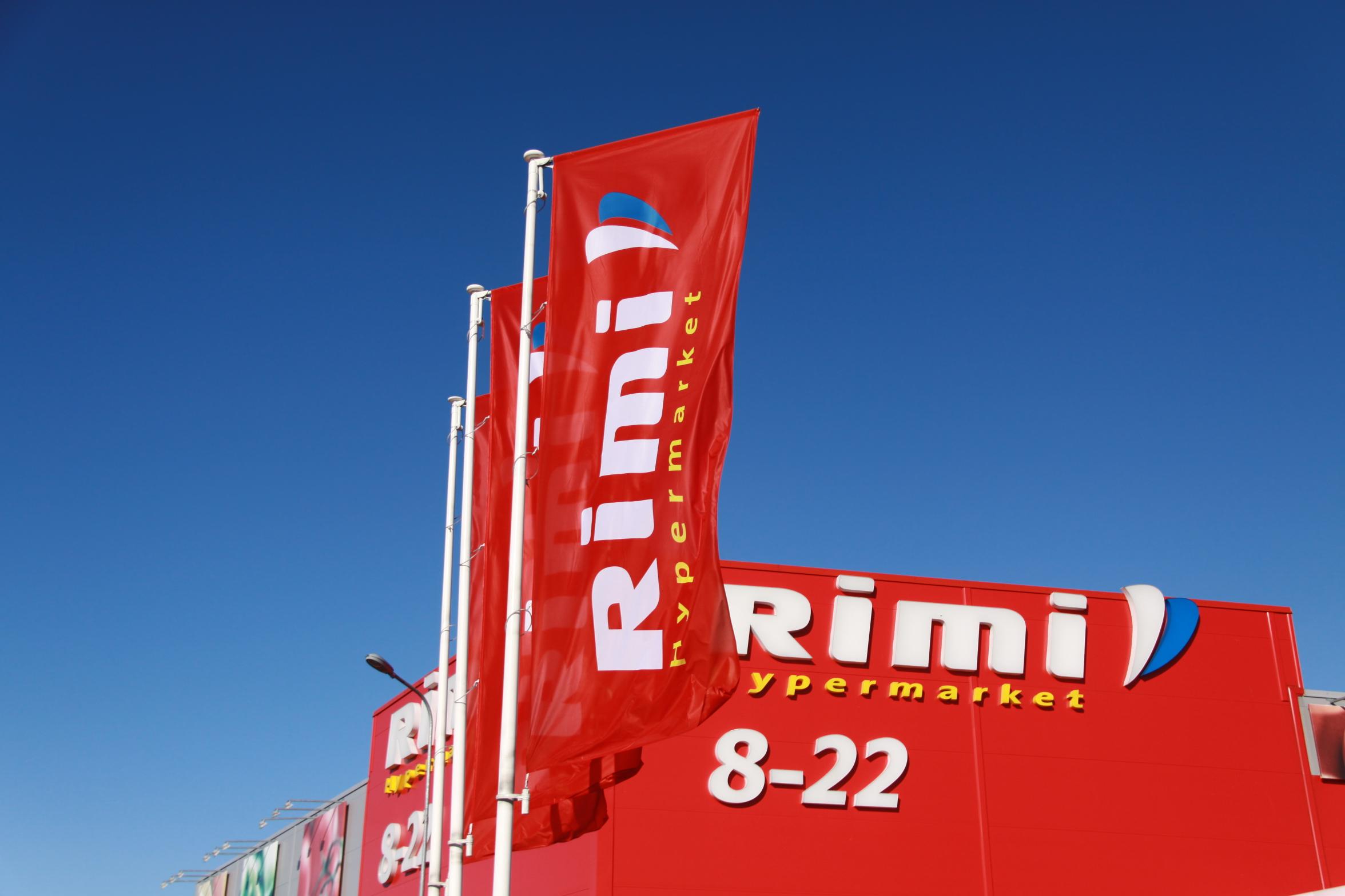 Rimi, karogi, firmas karogs, karogs, flag, flags.