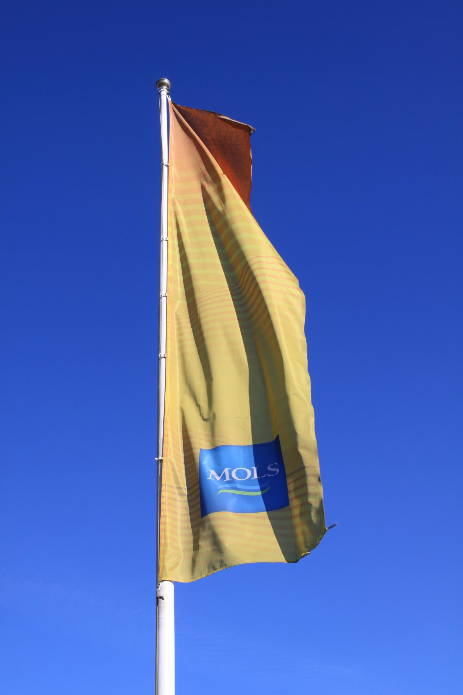 Mols, karogi, firmas karogs, flag, flags.